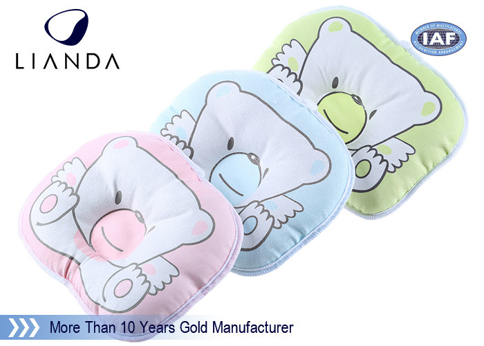 Rectangle Baby Sleeping On Nursing Pillow Confortable Sleeping
