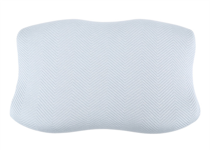 Comfortable Memory Foam Pillows Customizable Ergonomic 92% Polysters Inner Cover